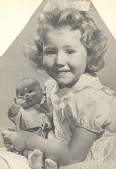 Shirley Temple Proves She Has a Mischievous Streak - News - Bubblews  Yes, I know that's not Shirley's picture, but some people used to think I looked like her.
