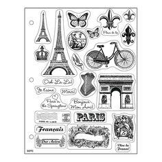 Paris Clear Stamps - OrientalTrading.com