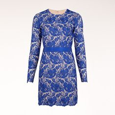 This Delicate Guipure lace mini dress with full length sleeves from the Stella McCartney's 2012 Evening Collection symbolizes both a fresh and timeless style