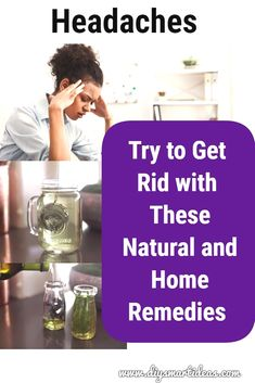 Suffering from headache and do not want to take medicine? You must try these natural home remedies that are proven works for headaches relief. Home Remedy For Headache, Natural Headache Remedies, Natural Pain Relief, Natural Home Remedies, Migraine Relief, Anxiety Relief, Stress And Anxiety, Getting Rid Of Headaches, Oils For Sinus