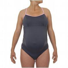 Costumi nuoto Abbigliamento - MUM MYA GREY PINK 1P NABAIJI - Costumi donna