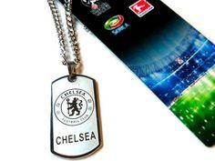 Chelsea Premier League Football Club Necklace