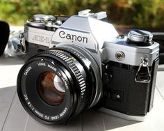 Working Vintage Canon AE1 35mm Film SLR by VintagePhotoAndCo, $108.00