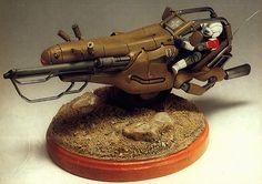Venus Wars- Hound attack bike designed by Makoto Kobayashi, though Kow Yokoyama may have been involved.