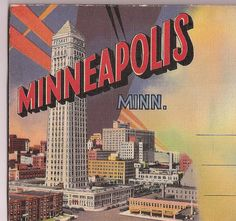 Minneapolis vintage Souvenir Booklet