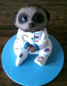 Image result for baby oleg meerkat fondant tutorial