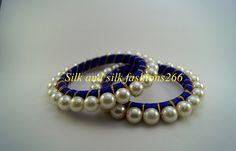 silk thread bangles for party wear which are customizable. Silk Thread Bangles Design, Silk Bangles, Silk Thread Earrings, Thread Jewellery, Paper Jewelry, Diy Jewelry, Handmade Jewelry, Fashion Jewelry, Silk Art