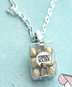 ferrero rocher chocolates necklace