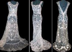 vintage lace wedding dresses vintage
