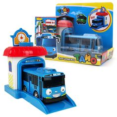 One piece Korean Cute Cartoons garage tayo the little bus model mini tayo plastic baby oyuncak araba car for kids Christmas gift #>=#>=#>=#>=#> Click on the pin to check out discount price, color, size, shipping, etc. Save and like it!
