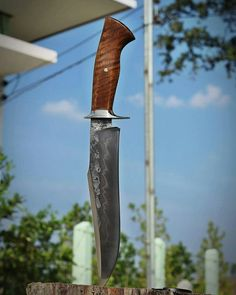 Bannok knives.bowie fighter.