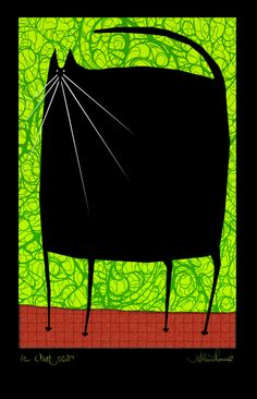 Le chat noir by Athene II