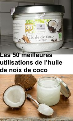 The 50 Best Uses of Coconut Oil - Health Nutrition Coconut Oil Uses, Natural Cosmetics, Baking Ingredients, Health And Nutrition, Cookie Dough, Brunch, Body Care, The Cure, Food And Drink