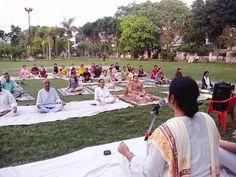 camp with blessings of yoga guru baba Ramdev World Yoga Day, Baba Ramdev, International Yoga Day, Blessings, Dolores Park, Camping, Travel, Campsite, Viajes