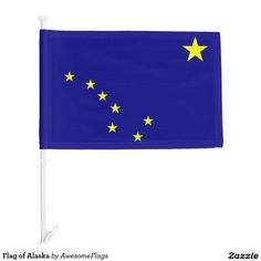 Flag of Alaska Car Flag