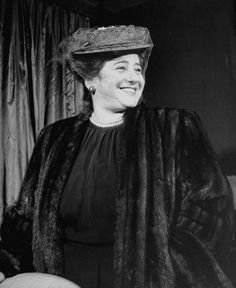 Gertrude Berg, pictured in 1947, won Best Lead Actress in a Series in 1951 for The Gertrude Berg Show. In the early years, the Emmys did not give out separate awards for dramas and comedies.