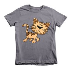 Kitten Short sleeve kids t-shirt