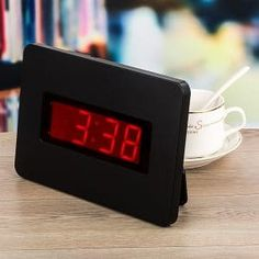 Digital wall clocks are clocks which display the time of hours and minutes, in traditional (Arabic) numerals.