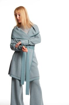 Mette Møller designs simple, feminine clothes for the practical and beautiful woman of today. Simple Designs, Raincoat, Beautiful Women, Feminine, Winter, Jackets, Clothes, Style, Fashion