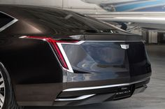 """The #Cadillac #Escala #Concept - from the Spanish word for """"scale"""" – is a reflection of our design evolution. Immediately apparent are the sculpted exterior lines on its large frame, giving it the appearance of gliding down the road."""