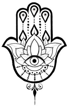 A Hamsa tattoo design I created. Tattoo Outline, Body Art Tattoos, Hand Of Fatima, Hamsa, Hamsa Tattoo Design, Hamsa Hand Tattoo, Hand Tattoos, Art, Arabic Tattoo