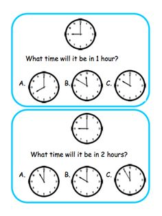 1000 Images About Math Elapsed Time On Pinterest