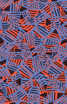 Crossover pattern - Sarah Bagshaw