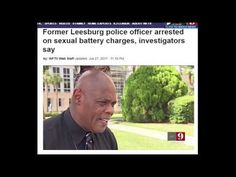 CORRUPT Florida: COP WASTED AT A PARTY,was charged with sexual battery a...