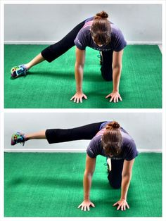 Develop strong, sexy glutes and prevent pain and injury with these 15 Bodyweight Glute Exercises. Bodyweight Glute Exercises, Hip Flexor Exercises, Scoliosis Exercises, Back Pain Exercises, Best Bum Exercises, Hip Stretches, Glute Medius, Pilates Moves, Hip Pain