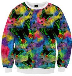 Madagascar Magic 100% cotton (Ribbed cuffs and neck) Sweatshirt