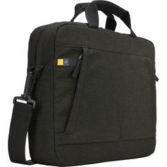 """Case Logic Huxton 3203125 Carrying Case (Attaché) for Apple 13.3"""" Notebook - Black"""