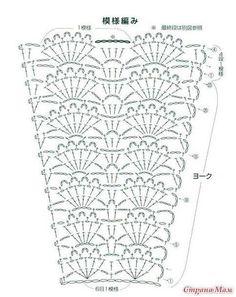Crochet skirt pattern free vintage 55 New Ideas Skirt Pattern Free, Crochet Skirt Pattern, Crochet Skirts, Crochet Diagram, Crochet Stitches Patterns, Crochet Patterns For Beginners, Crochet Chart, Crochet Clothes, Crochet Designs