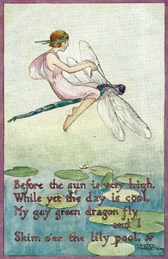 Hester Margetson. Postcard from the Fairy Wings series.