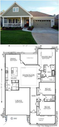 House Plan 74755 finally one I wouldn't change structurally. Just screen in that back porch and I'll buy it.