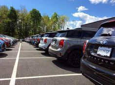 We've got rows of endless fun at #MINIofDutchessCounty, which #MINI would you pick? #DrivePrestige #MINIUSA