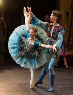 Dancers of the English National Ballet perform 'Le Corsaire'