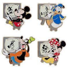 Mickey Mouse Pin Set - Walt Disney Studios | Pin Sets | Disney Store