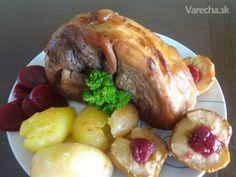Pickled pork - Marinované pečené bravčové stehno (fotorecept)