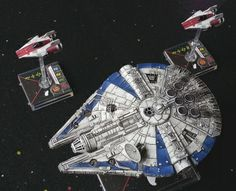 Star Wars X Wing Miniatures Game YT-1300 Conversion