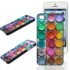 c22e62a5fc6c New Fashion Cool Color Paintbox Custom Painted Hard Plastic Protective  Phone Case Cover For Iphone 4 4S 5 5S 5C 6 6 Plus from Parisienne