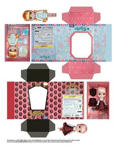 Blythe mini boxes | Flickr - Photo Sharing!