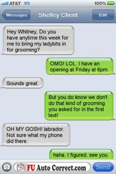 I think I'd be embarrassed enough to find a new groomer. haha