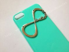 Ipod touch 5   Green infinity case for Ipod by BetsyLoveBracelet, $7.99
