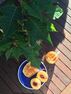 Σπιτική μαρμελάδα ροδάκινο ΧΩΡΙΣ ΖΑΧΑΡΗ! Healthy Sweets, Plant Leaves, Plants, Clean Eating Sweets, Plant, Planets