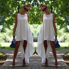 S M 3XL 5XL Women Summer Bohemian White Irregular Beach Dress Loose Flare Tunic Female Sleeveless Beachwear Boho Gowns Dresses