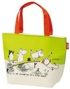 Tote Type Insulated Lunch Bag Moomin