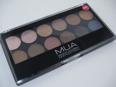 MUA Makeup Academy Undressed Eyeshadow Palette 1 - MUA is cheap but highly recommended