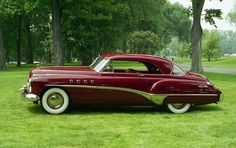 1949 Buick Rivera 2 door hardtop - I would really like to have this car