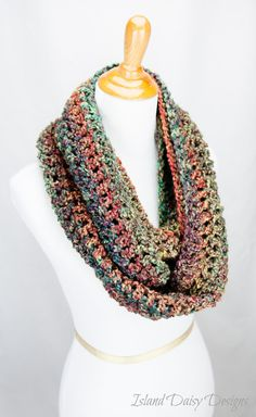 Infinity Scarf  THE BLUE RIDGE   Super soft by IslandDaisyDesigns, $31.00