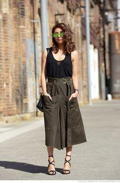 great skirt. #MadeleneKadziela in Sydney.